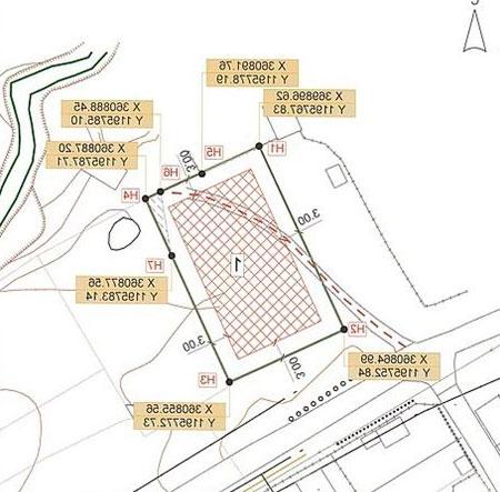 Чертеж градостроительного плана земельного участка